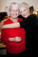 Jane Juska and Sharon Gless